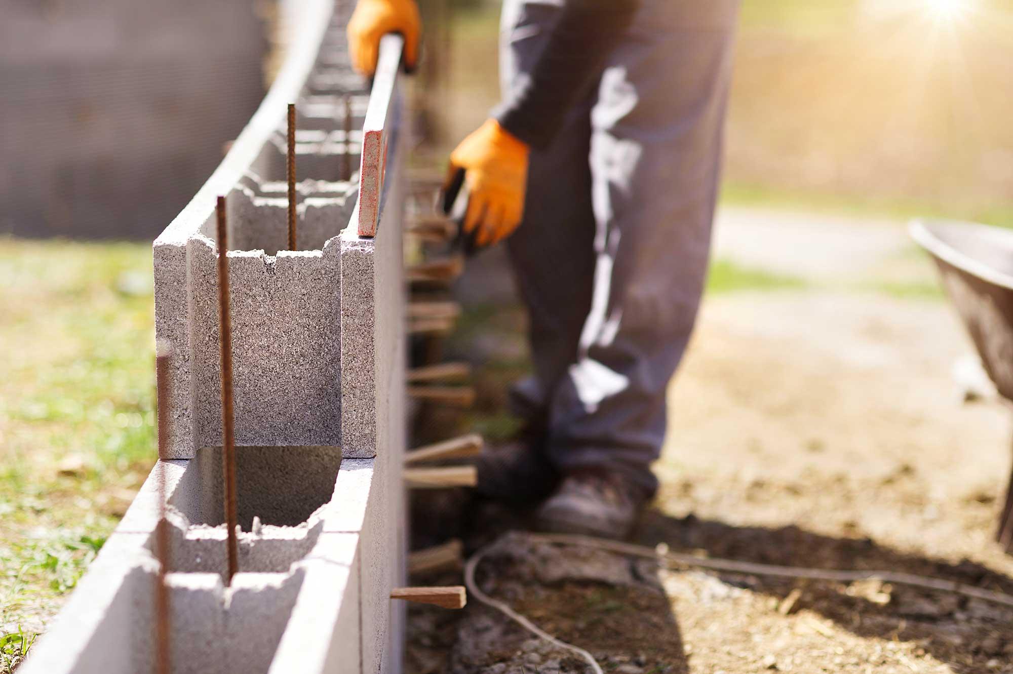Als Bauherr am Bau mithelfen
